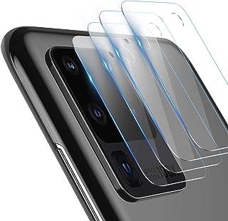 TAMOWA Skottsäker glasskyddsfilm för Samsung Galaxy S20 Ultra, 4 delar, kameralinsglasfilm, genomskinligt skyddsglas för S...
