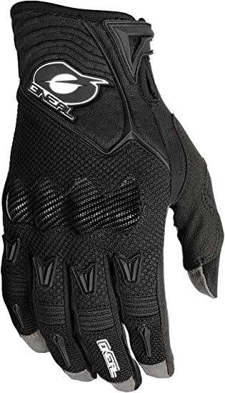 O Neal Fahrrad Motocross Handschuh Mx Mtb Dh Fr Downhill Freeride 4 Wege Stretch Karbon Knöchelschutz Silikonbeschichtet Butch Carbon Glove Erwachsene Schwarz Größe Xl Auto