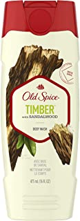 Old Spice Fresher Collection Men's Body Wash, Timber Scent, 16.0 Fluid Ounce