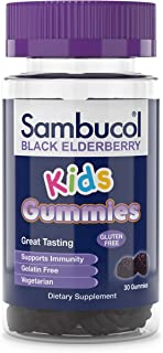 Sambucol Black Elderberry Kids Gummies, 30 Count
