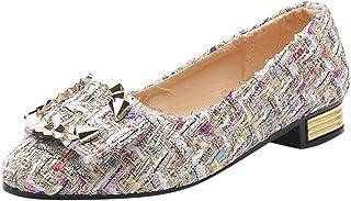 DAIFINEY Dames mocassin slipper met klinknagels slip-on modieuze vrijetijdsschoen klassieke Penny loafers gezellig