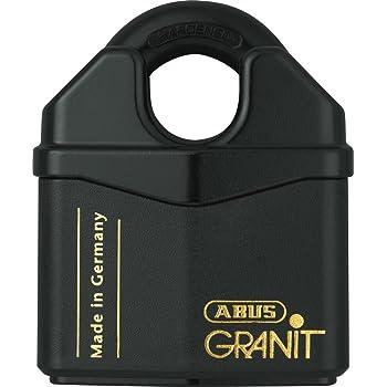 ABUS 37/80 Granit Alloy Steel Rekeyable Padlock, Keyed Different