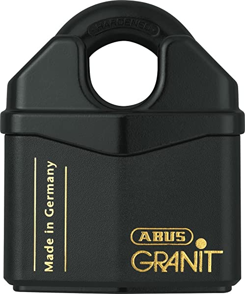 ABUS 37 80 Granit Alloy Steel Padlock Keyed Different Padlock Rekeyable