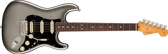 Fender American Professional II Stratocaster HSS Electric Guitar - Mercury Finish - Rosewood Fingerboard