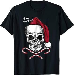 christmas skull t shirt