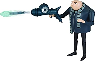 DESPICABLE ME Deluxe Action Figure Gru with Freeze Ray Toy Figure