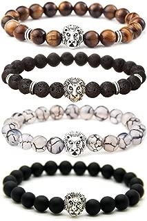 Best black and gold lion bracelet Reviews