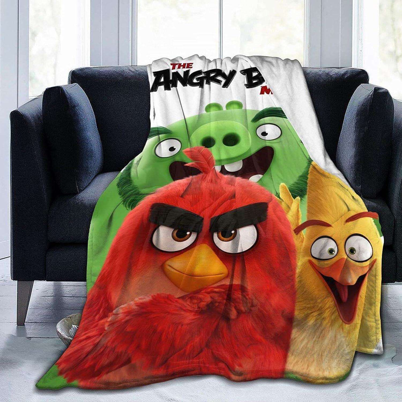 高級品 贈答 Angry Birds Blanket Fleece Lightweight Throw for Soft Blankets C