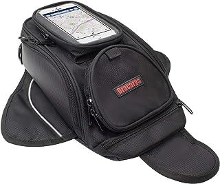 Bolsa de Tanque de Motocicleta - Oxford Saddle Negro Bolsas para depósito Motocicleta - Universal Fuerte Bolsa magnética p...