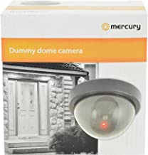 Mercury Dummy Dome Camera with Flashing Led