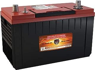 VMAX XCA31-1400 AGM 1200CCA Group 31 Starting DP Cycle Volvo Truck 12V Battery