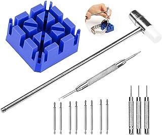 SRXWO Kits et Outils de réparation de Montre avec Tournevis pour Retrait des maillons posage pour Bracelet goupilles Kit d...