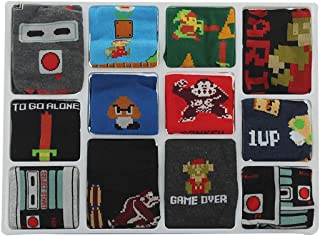 Nintendo Calendar 12 Days of Socks Box