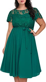 Best teal green plus size dress Reviews