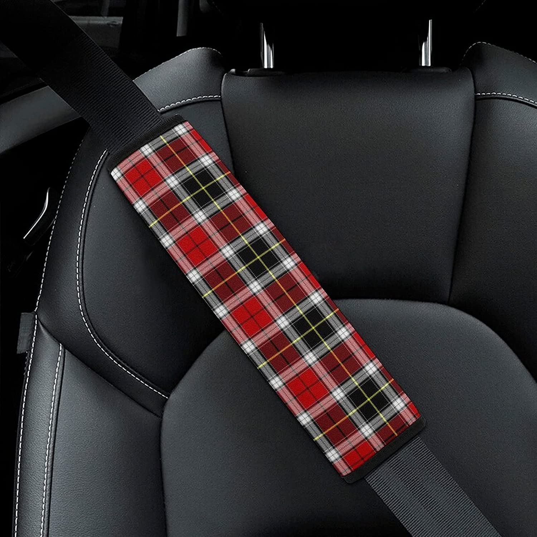 Red Black Buffalo Check Plaid Tartan Large special price !! B Car Seat Scottish Max 86% OFF Pattern