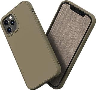 RhinoShield [iPhone 12 Pro Max] | SolidSuit ケース - 3.5mの落下衝撃からも保護 マット加工でスタイリッシュなデザイン - ブラウングレー