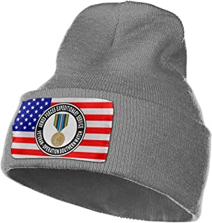 Armed Forces Expeditionary Medal Operation Southern Watch Mens Womens Knit Fold Over Beanie Hat Skull Cap