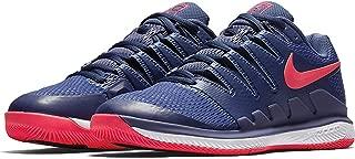 Womens Zoom Vapor X Tennis Shoes (9.5 B(M) US, Blue Recall/Racer Pink-White)