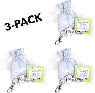 cross country running keychains
