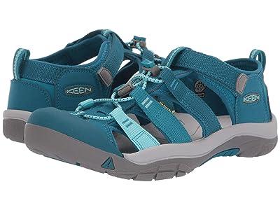 Keen Kids Newport H2 (Little Kid/Big Kid) (Deep Lagoon/Tahitian Tide) Girls Shoes