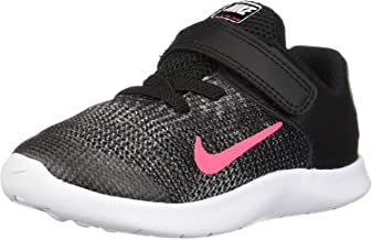 toddler pink and black nike shoes