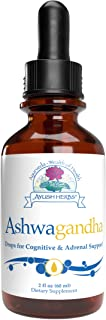 Ayush Herbs Ashwagandha Drops, Powerful Cognitive, Adrenal, Immune System, and Full-Body Support, All-Natural Ayurvedic He...
