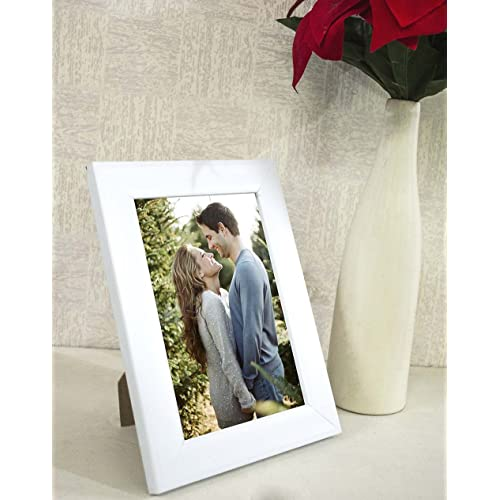 7065ed06aec Painting Mantra Art Street Synthetic White Wall Table Photo Frame (6 inches  x 8