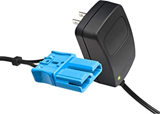 X PWR 12 Volt Battery Charger for Kid Trax Child Ride On Car, 12V Charger with Anderson Connector for Mecerdes ML63 Dodge Ram 3500 Dodge Police Car Dodge Viper More