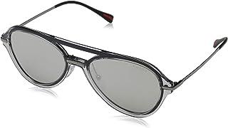 f429072e3 Óculos de Sol Prada Linea Rossa Ps 04ts Mqg2b0/57 Cinza