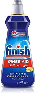 Finish Dishwasher Rinse Aid Liquid Lemon, 400ml