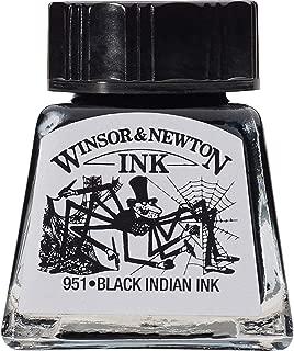 Winsor & Newton Drawing Ink Bottle, 14ml, Black Indian