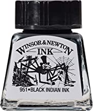 Winsor & Newton Drawing Ink Bottle, 14ml, Black Indian