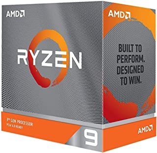 AMD 新型 Ryzen 9 3900XT without cooler 3.8GHz 12コア / 24スレッド 70MB 105W 100-100000277WOF 三年保証 [並行輸入品]