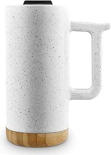 Ello Aspen 16oz Ceramic Travel Mug (Dusty White Speckle)