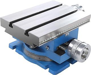 Fresadora giratoria Mesa deslizante de perforación compuesta, 246 x 176 mm, Herramientas manuales de hardware industrial, ...