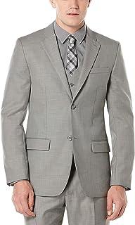 Perry Ellis Men's Solid Texture Suit Jacket