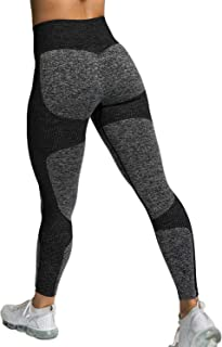 KIWI RATA Women's High Waist Workout Vital Seamless Fitness Yoga Leggings Butt Lift Active Tights Stretch Pants