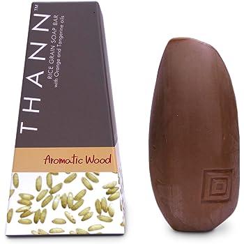 THANN Aromatic Wood Rice Grain Soap Bar 100 g. by THANN