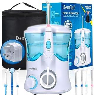 Oral Irrigator Multifunctional Water Flosser for Family, DentJet Professional Dental Care Kit Teeth Cleaner Water Pick for...