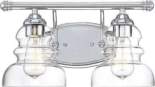 high quality Millennium Lighting 7332-CH online sale 2-Light Bath sale Vanity outlet online sale