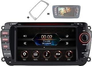 AWESAFE Radio Coche 7 Pulgadas con Pantalla Táctil 2 DIN para VW Seat Ibiza 2009–2013, Autoradio con Bluetooth/GPS/FM/RDS/...