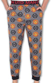 Manchester United FC Official Football Gift Mens Lounge Pants Pyjama Bottoms