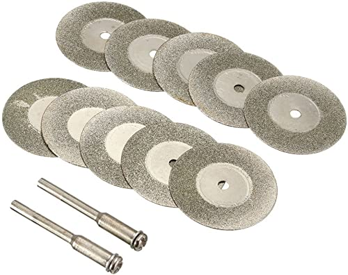 wholesale Diamond Cutting Wheel lowest Cut Off Discs Coated Rotary Tools W/Mandrel 40mm for wholesale Dremel by YEEZUGO online