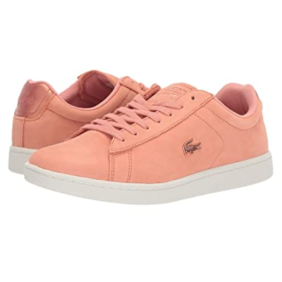 Lacoste Carnaby Evo 118 1 U SPW (Pink/Off-White) Women