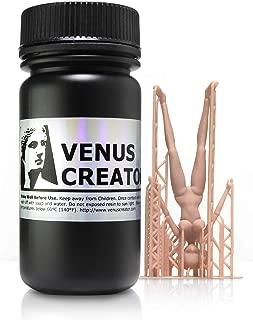 Venus Creator VC813 - Figure Skin Color Resin for B9Creator, Wanhao, Asiga, MoonRay, Phrozen and All Other LCD DLP SLA 3D Printers (10.7 fl oz)