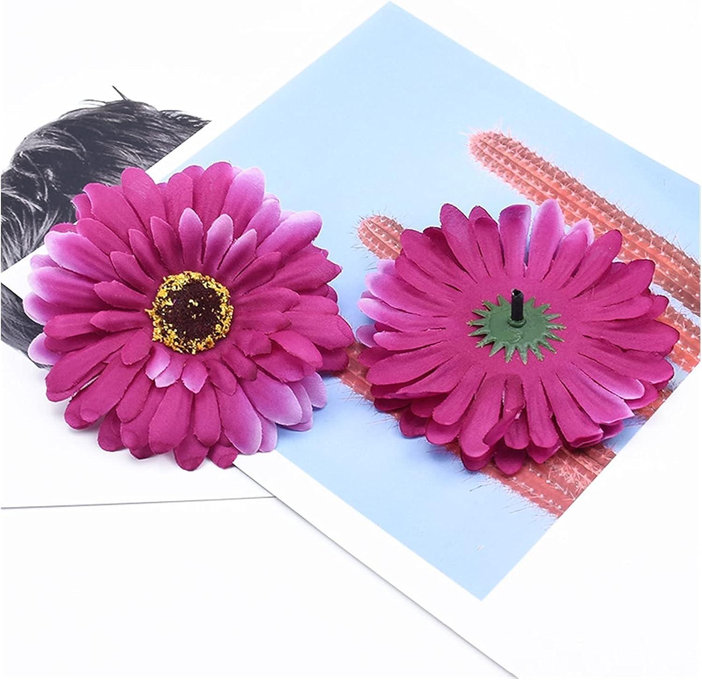 Artificial Flowers List price Arlington Mall 10cm Silk Gerbera Wedding Scrapbooking D Home