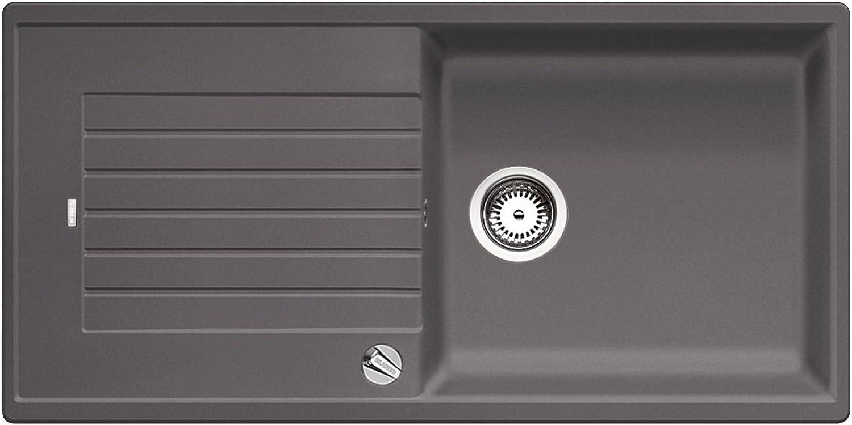 Weiß ZIA XL 6 S 518 942 Küchenspüle S-518 felsgrau