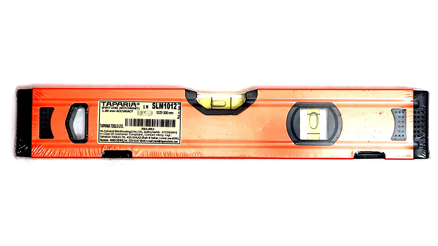 TAPARIA Spirit Level with Magnet, SLM 1012, 12-Inch: Amazon.in: Home Improvement