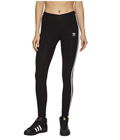 adidas Originals 3 Stripes Tights (Black) Women