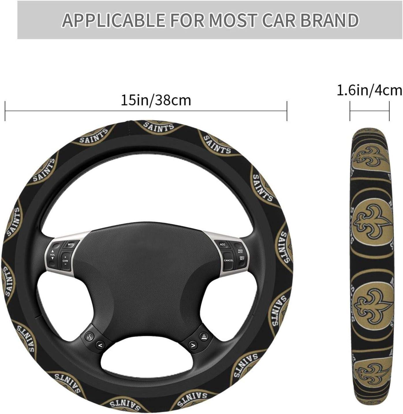 Fremont Die Universal Cute Car Steering Wheel Accessories for Women